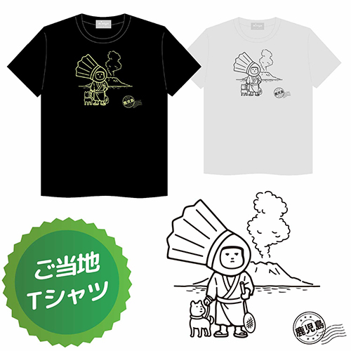 minton ご当地Tシャツ (鹿児島) / minton local T-Shirt (kagoshima) [minton_local-t_2]